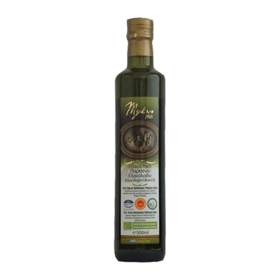 ОЛИВКОВОЕ МАСЛО EXTRA VIRGIN OLIVE OIL P.D.O. ORGANIC 500 мл