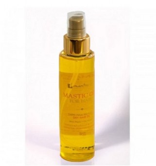 Moisturizing hair oil with mastic, argan and camellia greece