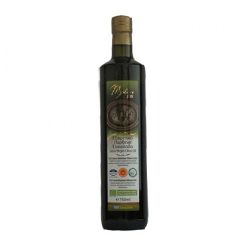 ОЛИВКОВОЕ МАСЛО EXTRA VIRGIN OLIVE OIL P.D.O. ORGANIC 750 мл
