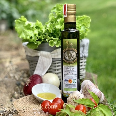 ОЛИВКОВОЕ МАСЛО EXTRA VIRGIN OLIVE OIL P.D.O. ORGANIC 250 мл