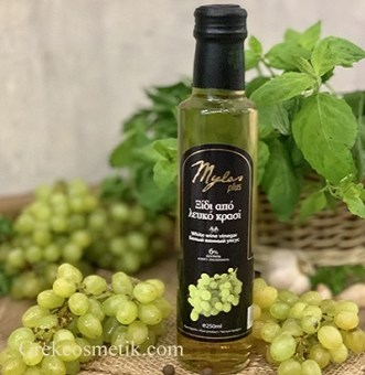 white balsamic vinegar  Greece milos plus4